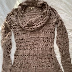 RW&Co knitted cowl sweater